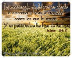 """Comparados con la inmortalidad de Jehová, el """"Dios de la eternidad"""", los """"días"""" del """"hombre mortal"""" son muy breves, """"como los de la hierba verde"""". Pero David reflexiona agradecido (Salmo 103:15-18). Jehová no olvida a los que le temen. Al debido tiempo les dará vida eterna (Juan 3:16; 17:3)."""