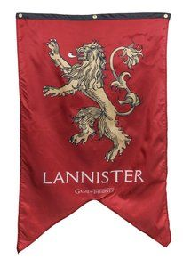 Game of Thrones Exclusive House Stark Subliminal Lines Indoor Wall Banner
