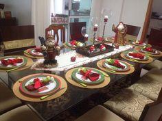 Nossa mesa de Natal em Baln. Camboriú! 2014