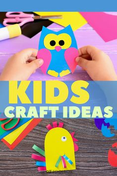 Looking for kids crafts that build skills? These occupational therapy craft ideas use items found in the home and recycled materials. Recycled Crafts Kids, Summer Crafts For Kids, Crafts For Kids To Make, Spring Crafts, Quick Crafts, Ocean Animal Crafts, Animal Crafts For Kids, Frog Crafts, Bird Crafts