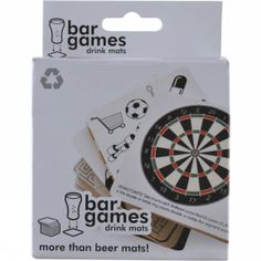 bar games coasters