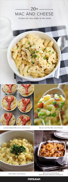 Macaroni and cheese recipes that will speak to your soul.