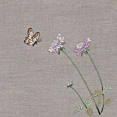 #야생화자수 #솔체꽃 #꿈소 #꿈을짓는바느질공작소 #자수 #embroidery #handembroidery #embroideryart…
