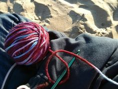 Crochet at Ocean Beach!