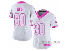 womens nike new york giants sterling shepard white pink stitched nfl limited rush fashion jersey fro