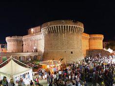 Summer Jamboree di senigallia: piazza del Duca e Rocca Roveresca di Senigallia