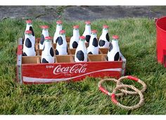 Game idea for cowgirl birthday party...DIY Ring Toss.