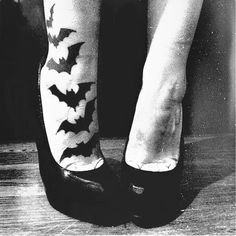 @Nicole Novembrino Cayouette  so i don't think you are crazy about foot tattoos BUT substitute your fave batman symbols!!