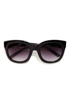 Feline Black Sunglasses at Lulus.com!