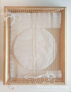 Veve en sirkel // To weave a circle Elsa, Weaving, Art, Craft Art, Kunst, Loom Weaving, Gcse Art, Hand Spinning, Soil Texture
