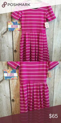 Amelia Dress BNWT. Size medium and XL available. LuLaRoe Dresses