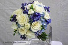 a Man & a Woman Floral Design