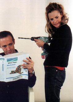 Amy and David Sedaris