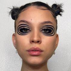 Edgy Makeup, Makeup Goals, Makeup Inspo, Makeup Art, Makeup Inspiration, Beauty Makeup, Hair Makeup, Hair Beauty, Cute Makeup Looks