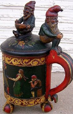 gnome stein - would love to have this - I love both steins and gnomes