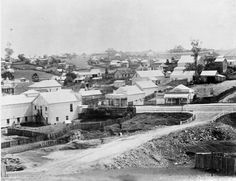 """""""@LandQueensland: #FlashbackFriday Gympie, early 1890s """" @kilkivanray any ideas where this would be?"""