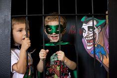 Jail villian photobooth