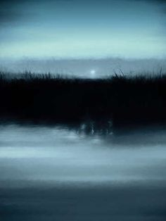 Check out 'Moonrise on the Water' by Scott Norris on TurningArt