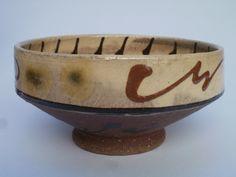 Slipware bowl, by Niek Hoogland, 2010 Pottenbakkerij Hoogland,   Steyl-Tegelen, Netherlands