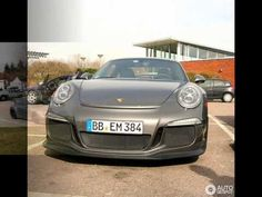 The New 2014 Porsche 911 GT3 out in public in France - review horsepower hp specs top gear 991 turbo