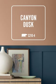 Take on the new year with a fresh painting project. Introducing BEHR® 2021 Color of the Year Canyon Dusk S210-4, a warm shade of rich terracotta that can help you transform every space in your home into the peaceful escape you deserve. This year, let's DIY for real life with Canyon Dusk.