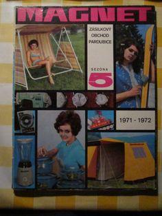 Zásielkový katalóg Magnet 1971 - 1972