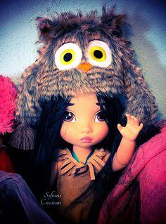 Disney animator dolls her cute little hat