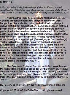 Praise God for Jesus! Daily Devotional: