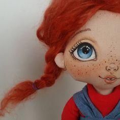 Доброго дня...пора разбавлять хороших девочек хулиганками...#torrytoys #рыжаябестыжая #dollstagram #artdolls #handmadedoll #handpainted…