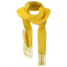 Yellow Solid Viscose Long Scarf ❤ liked on Polyvore featuring accessories, scarves, bamboo scarves, yellow shawl, yellow scarves, viscose scarves and oblong scarves