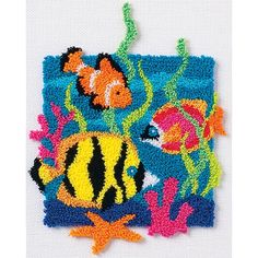 Vervaco Disney Winnie The Pooh Latch Hook Rug Kit Sale