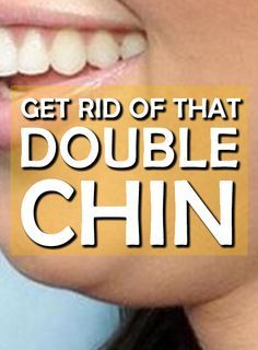 What can you do without spending 1000's on a facelift? #doublechin #fat