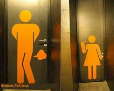 bathroom doors!!!