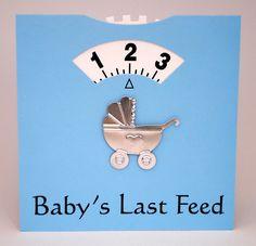 Nooit meer vergeten hoe laat je voeding gegeven hebt!