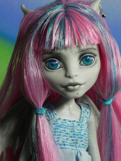 *Murrina* - OOAK Monster High Rochelle Goyle Doll Repaint By Nesladkaya_N