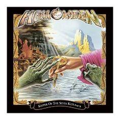 """L'album degli #Helloween intitolato """"Keeper Of The Seven Keys - Part II"""" in versione estesa in confezione Deluxe. Il secondo CD contiene 3 B-side e 2 remix."""