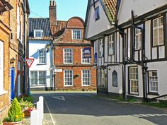 Little Walsingham Streets Medieval ...
