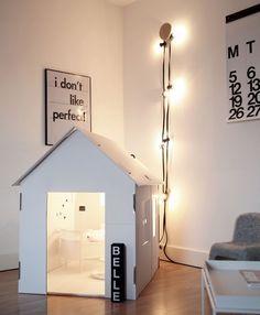A Minimalist Playhouse - Petit & Small Minimalist Parenting,Minimalism Raine & Horne Approved #rhnewtown