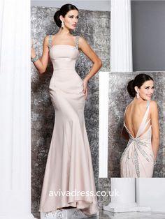 A-line Straps Sleeveless Satin Floor-length Sexy Evening Dresses Evening Dresses Uk, Sexy Evening Dress, Satin, Floor, Formal Dresses, Fashion, Formal Gowns, Moda, Sexy Night Dress