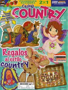 Revistas de manualidades gratis: Manualidades estilo country revista gratis