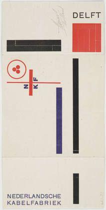 Piet Zwart. Hoog en laagspanningskabels, kopperkabel, koperdraad. c. 1923