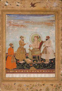 shah jahan receiving dara shikoh jahan album 1650