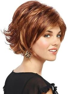 Image result for flipped up in the back short bob hairstyle