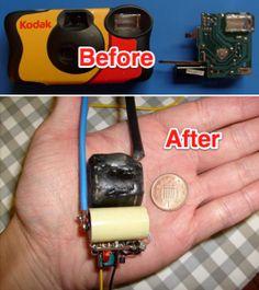 Personal Defense: How To Make A Stun Gun With A Disposable Camera