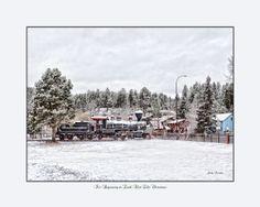 1880 Train located in beautiful Hill city, SD