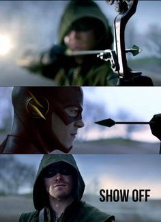 Arrow and flash ep 8 cant wait arghhh 2/12/14 hurry up!!