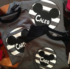 Custom Kids and Adult Micky Mouse Disney Shirt on Etsy, $20.00