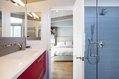 Klopf Architecture; shower wand and head idea