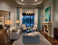 marcmichaels living spaces | Quail West - Tuscany | Marc-Michaels Interior Design, Inc.