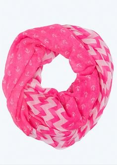 Chevron Anchor Infinity Scarf | Scarves | rue21